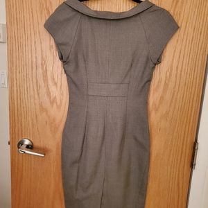Ted Baker London Dresses - Ted Baker London grey shift dress with tailoring